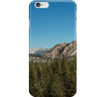 High sierra tree line iPhone Case/Skin
