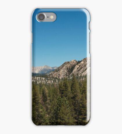 High sierra tree line iPhone Case/Skin