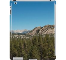 High sierra tree line iPad Case/Skin