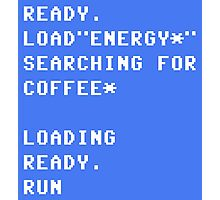 Ready Load Coffee Photographic Print
