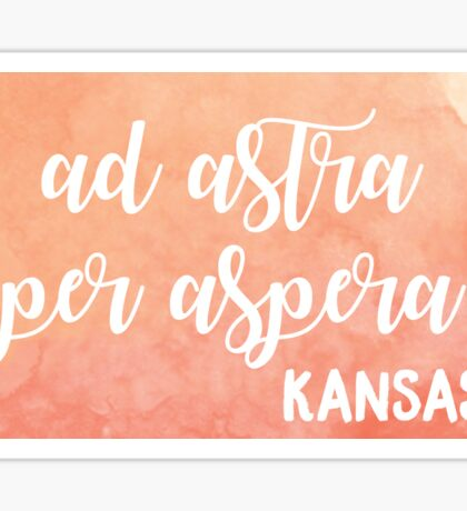 Kansas Sticker