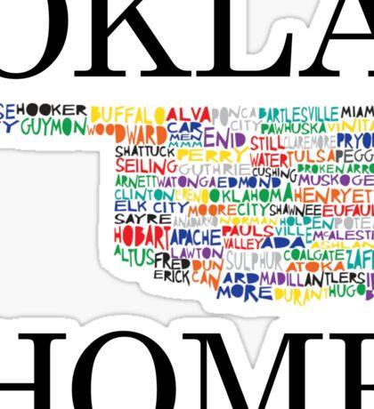 Home - Oklahoma Sticker