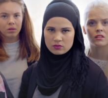 Chris, Eva, Sana, Vilde, Noora | SKAM Sticker