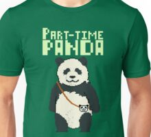 8-bit part-time panda Unisex T-Shirt