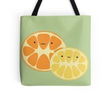 Orange & Lemon Friends Tote Bag