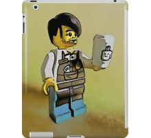 The world's best barista! iPad Case/Skin