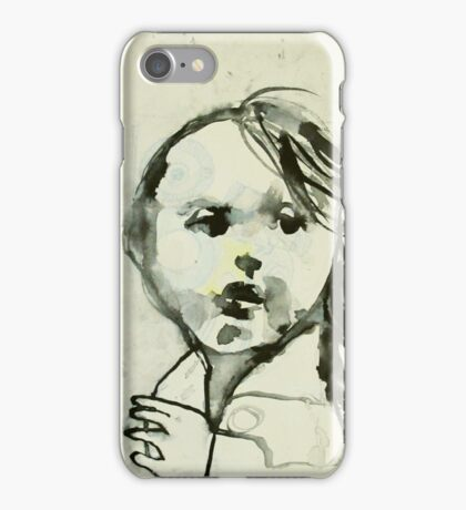 the beast is unleashed -run girl iPhone Case/Skin