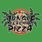 Jungle Karma Pizza Employee Shirt by lazerwolfx