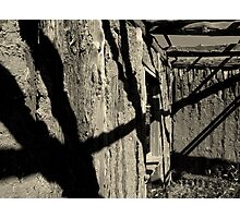 Shadows of the Past Photographic Print