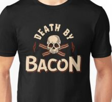 Death By Bacon Unisex T-Shirt