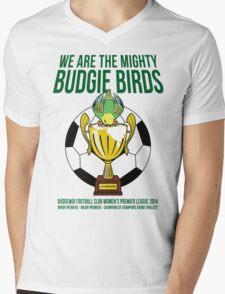 Official Budgie Birds Merchandise Mens V-Neck T-Shirt