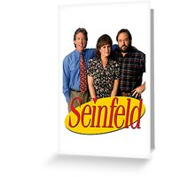Seinfeld Greeting Card