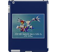 Flee the machine has a mind of it's own!! iPad Case/Skin