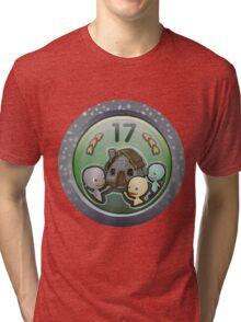 Glitch Achievement house party Tri-blend T-Shirt