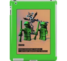 Sitrep from Check Point Charlie iPad Case/Skin