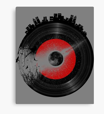 Music is History Canvas Print