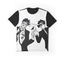 Mob Psyco 100: Mob and Boris Graphic T-Shirt