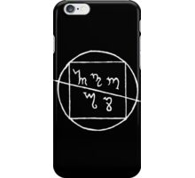 Antidiocese Logo iPhone Case/Skin