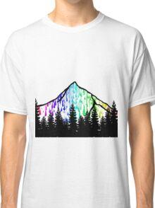 paint drip mountain  Classic T-Shirt