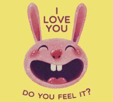 Bunny with love Kids Tee