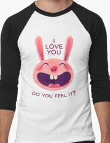 Bunny with love Men's Baseball ¾ T-Shirt