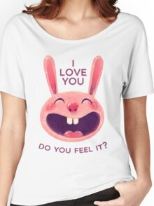 Bunny with love Women's Relaxed Fit T-Shirt