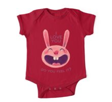Bunny with love One Piece - Short Sleeve