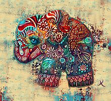 Vintage Elephant by © Cassidy (Karin) Taylor