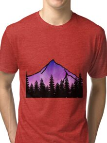 purple mountain majesty  Tri-blend T-Shirt