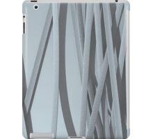 paper ribbon background white iPad Case/Skin