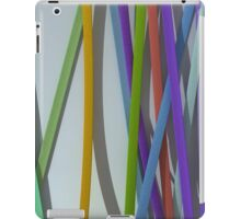 paper ribbon background color iPad Case/Skin