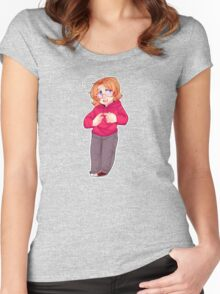 maple ! Women's Fitted Scoop T-Shirt