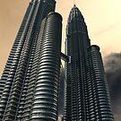 Apocalyptic Sky, Petronas Towers by Jane McDougall
