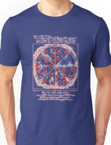 Pizza t-shirt Peter Parker wears in Civil War Unisex T-Shirt