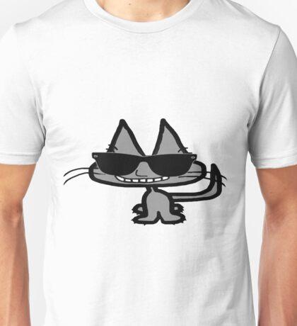 Cool Cat Smiles Unisex T-Shirt