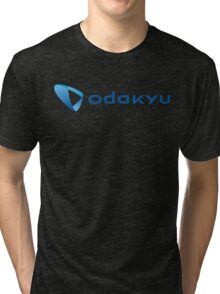 Odakyu Japan Railway Tri-blend T-Shirt