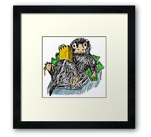 Fantastic Beasts and where to find them - Niffler Framed Print