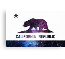 galaxy california flag  Canvas Print