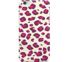 Pink Leopard Animal Print iPhone Case/Skin