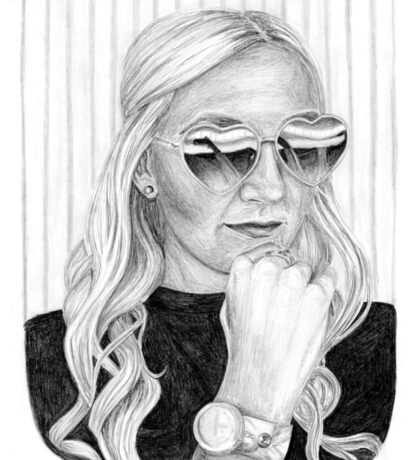 R5 - Rydel Lynch [Graphite Series] Sticker