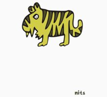 Nits for Kids - Tansy the Tiger Kids Tee