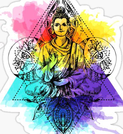 Buddha illustration Sticker