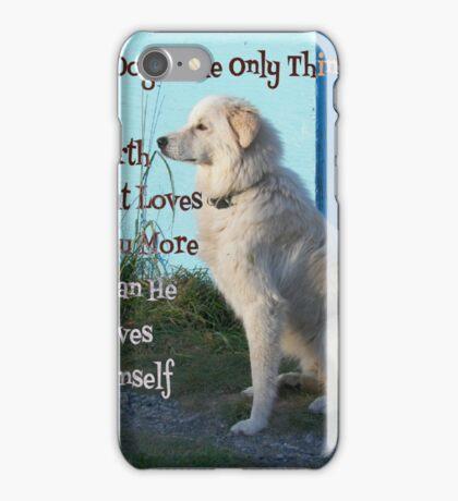 Maremma love iPhone Case/Skin