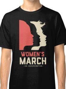 Women's March On Washington Classic T-Shirt