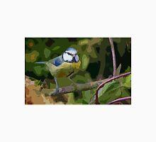 "Birds story, "" fawn paint Picasso ! "" 23 (c) (t) the Blue Tit - Olao-Olavia by Okaio Créations  Unisex T-Shirt"