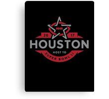 Houston host to Super Bowl Li 2017 Canvas Print