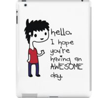 Awesome Day iPad Case/Skin