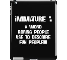 We Are Fun iPad Case/Skin