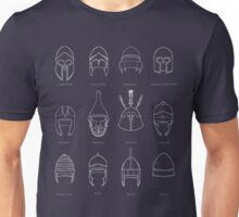 Greek Helmets  Unisex T-Shirt