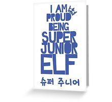 Super Junior ELF Greeting Card
